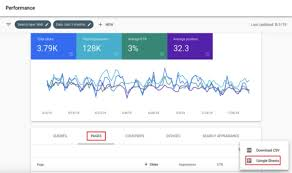how to use google search console to