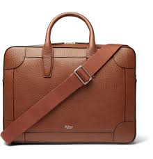 mulberry belgrave full grain leather briefcase