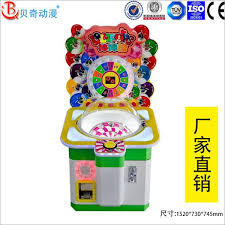 Coin Operated Candy Vending Machine Mesmerizing Lollips Vending Game Machine Coin Operated Candy Vending Game Machine