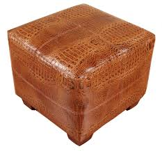 leather cube ottoman. Modren Ottoman Expand With Leather Cube Ottoman O