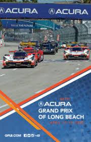 2020 Ticket Brochure Acura Grand Prix Of Long Beach