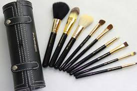 last day 75 off m a c make up brush set 9 brushes mirror with case free registered pose