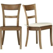 kipling grey wash side chair and ivory cushion in dining kitchen chairs crate and