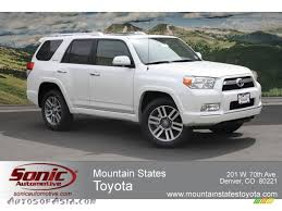 2012 Toyota 4Runner Limited 4x4 in Blizzard White Pearl - 098445 ...