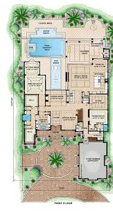 mediterranean house plan 75913 level one