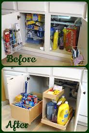 Under Kitchen Sink Storage 17 Best Images About Kitchen Sink On Pinterest Under Sink