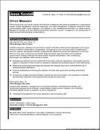 100 Front Office Resume Samples Resume Organization Resume