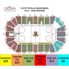Fayetteville Marksmen Vs Pensacola Ice Flyers Crown Complex