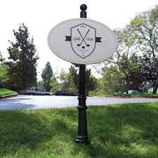 Decorative Sign Posts Decorative Aluminum Sign Posts Signs Custom Made By Example 100 81