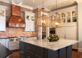 Copper Backsplash Kitchen White Kitchen Cabinets With Copper Backsplash Quicuacom