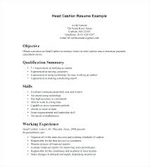 Duties Of A Cashier Resume Sample Cashier Resume Instructional