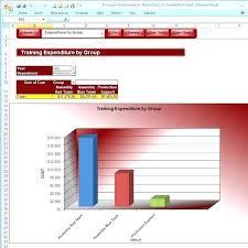 Training Tracker Excel Template Employee Record Spreadsheet Database