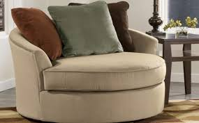 comfortable chairs for living room. Furniture. Beautiful Side Chairs For Living Room Decoration. Cream Microfiber Round Sofa With Grey Comfortable R