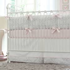 a baby girl s nursery in pink and gray traditional kids