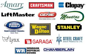 brand logos garage door service ontario