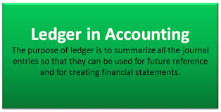 Ledger In Accounting Meaning Example Format Ledger Book