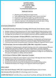 business systems analyst resume  business_analyst_resume_example_targeted_to_job - Oracle Business Analyst  Jobs