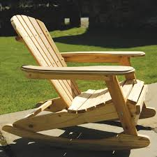 Wood Adirondack Rocking Chairs Lustwithalaugh Design More