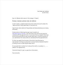 Noise Complaint Letter Under Fontanacountryinn Com
