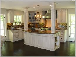White Stained Wood Kitchen Cabinets Staining Oak Kitchen Cabinets White Appealing Kitchen Design With