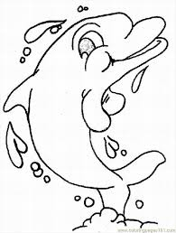 Small Picture Dolphins Coloring Pages 3 Lrg Coloring Page Free Dolphin