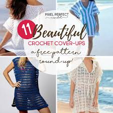 Crochet Swimsuit Cover Up Pattern Simple Inspiration Ideas