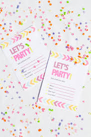 printable neon chevron hen party bachelorette party invites hen party bachelorette party neon invitations