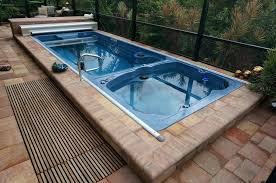 hot tubs swim spas and accessories lap pool spa combination above ground tub combo inground ave