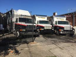 steve johnston of sj enterprises also has a front to house overflow inventory shown here are excess bo that won t fit on the trucks