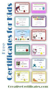 free preschool certificates free printable certificates for kids free printable