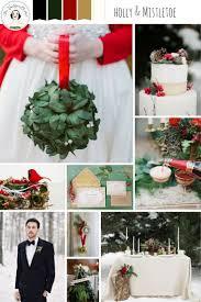 Holly & Mistletoe - Christmas Wedding Inspiration