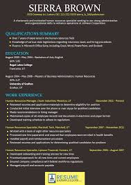 English Resume Font Therpgmovie