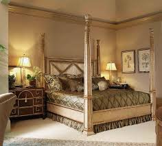 Rustic Four Poster King Bed