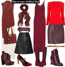 what color is oxblood. Contemporary Oxblood How To Wear Oxblood Red With What Color Is Oxblood E