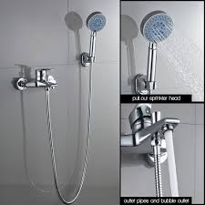 Badwannenarmatur Duscharmatur Badwanne Wasserhahn Duschset