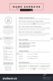 32 Best Images About Resume Layouts On Pinterest