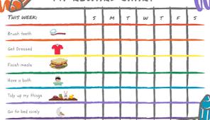 8 Of The Best Free Printable Kids Chore Charts Actividades