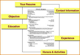 Job Resume Example For College Students | Template