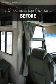 96 winnebago adventurer rv window curtains before