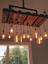 pallet furniture. metal mason jars pipe chandelier 125 awesome diy pallet furniture ideas 101 part 5 t