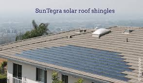 suntegra solar shingles a solar roof tile option for your home
