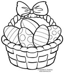 Small Picture easter coloring pages Easter Basket Coloring Pages for kids