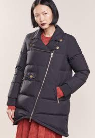boutique moschino winter coat women clothing coats black