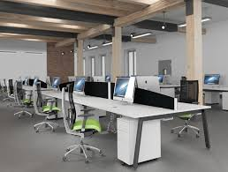 open layout office. Open Plan Bench Desking Switch Layout Office \