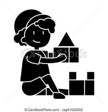 箱 男の子 イラスト レンガ 隔離された 印 おもちゃ ベクトル 背景 アイコン 遊び