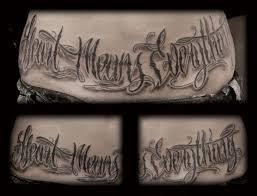 Lettering Tattoo Script Font Tattoomagz Tattoo Designs Ink