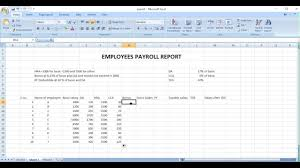 Payroll sheet excel in hindi - YouTube