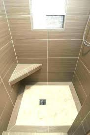 how to make a shower base on a concrete floor cement shower pan how low level