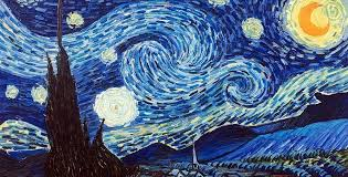 starry night by vincent van gogh min