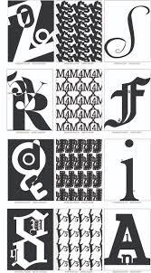 intro to graphic design final portfolio erin singleton s portfolio 3 letter designs